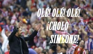 OLE OLE OLE CHOLO SIMEONE